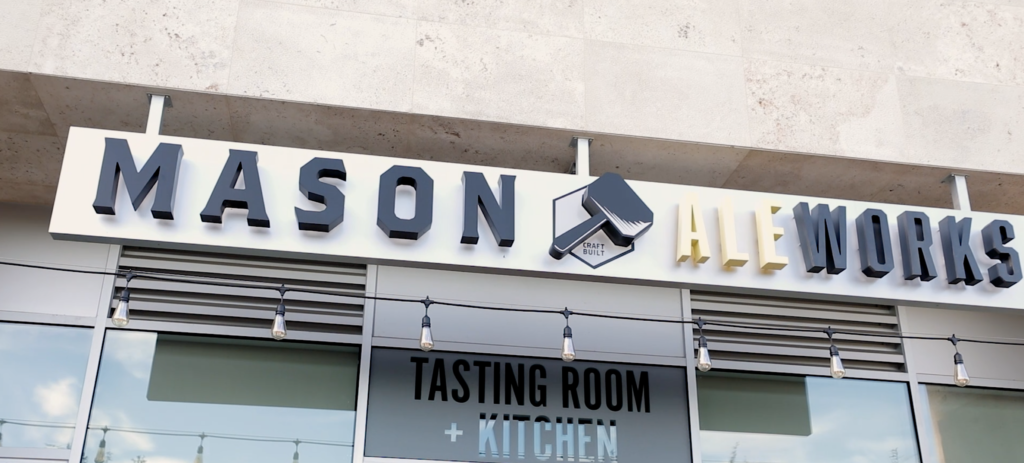 Mason Ale Works Tasting Room and Kitchen Comes to Carmel Valley