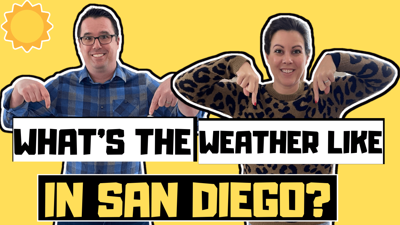 Weather in San Diego